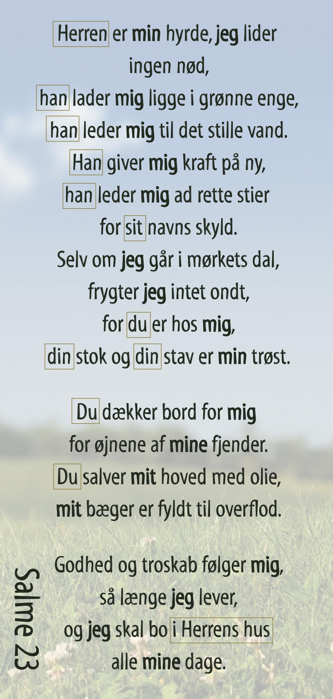 Salme 23 Image