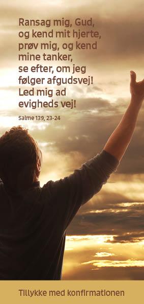 Salme 139, 23-24 Image