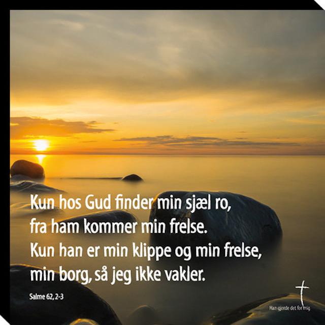 Salme 62, 2-3 Image