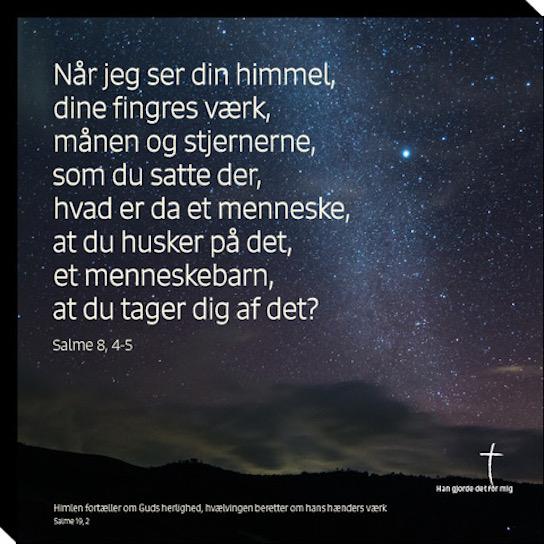 Salme 8, 4-5 Image