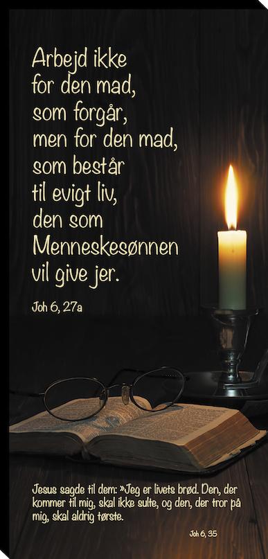 Joh 6, 27a og Joh 6, 35 Image