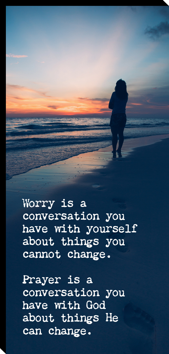 Worry is... Image