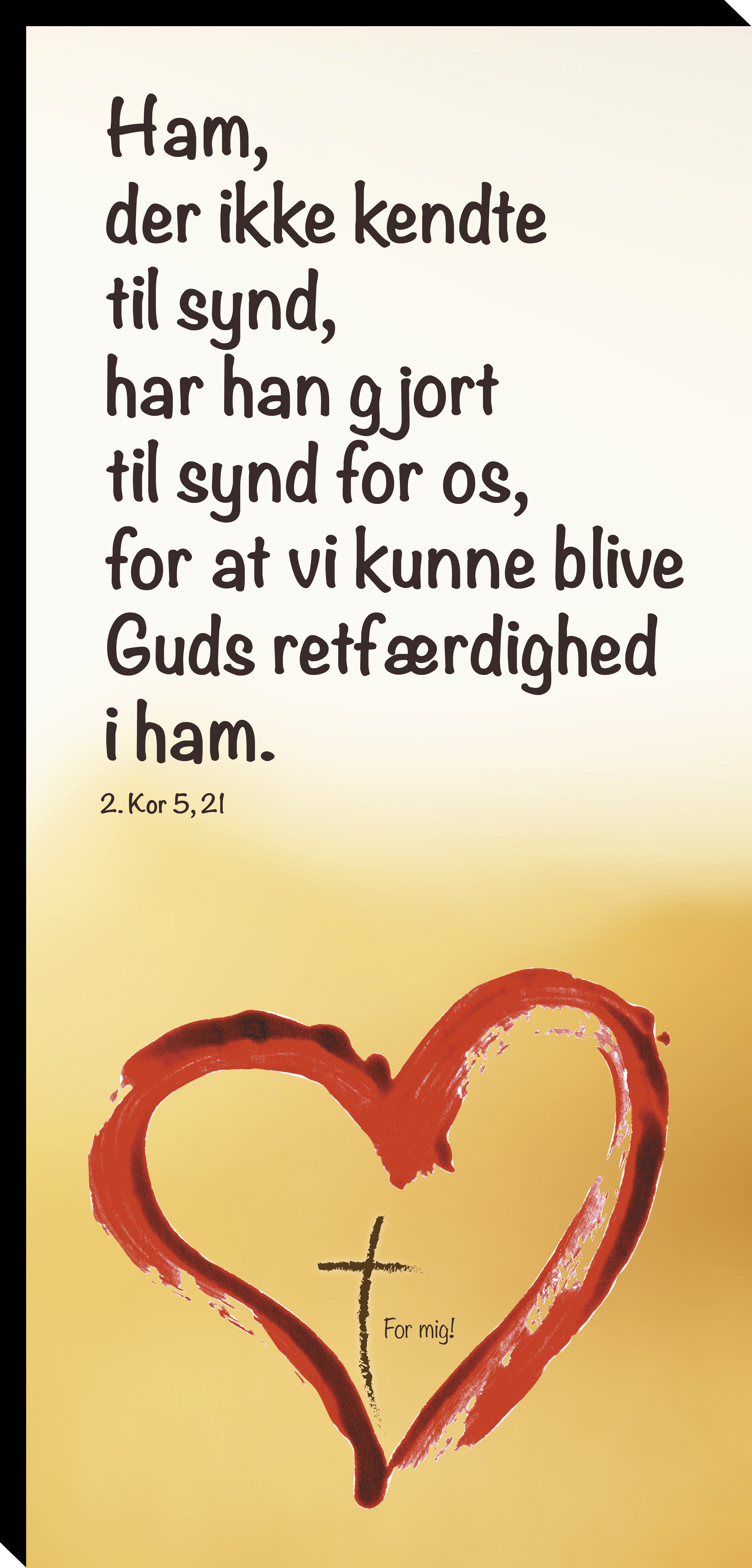 2. Kor 5, 21 Image