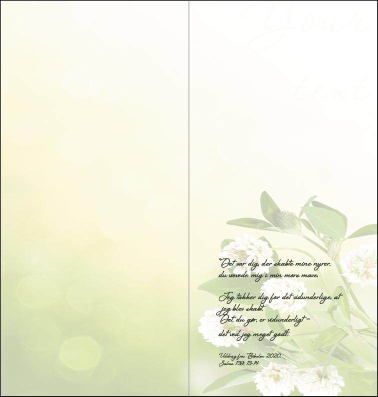 Fødselsdagskort 1 - inderside Image