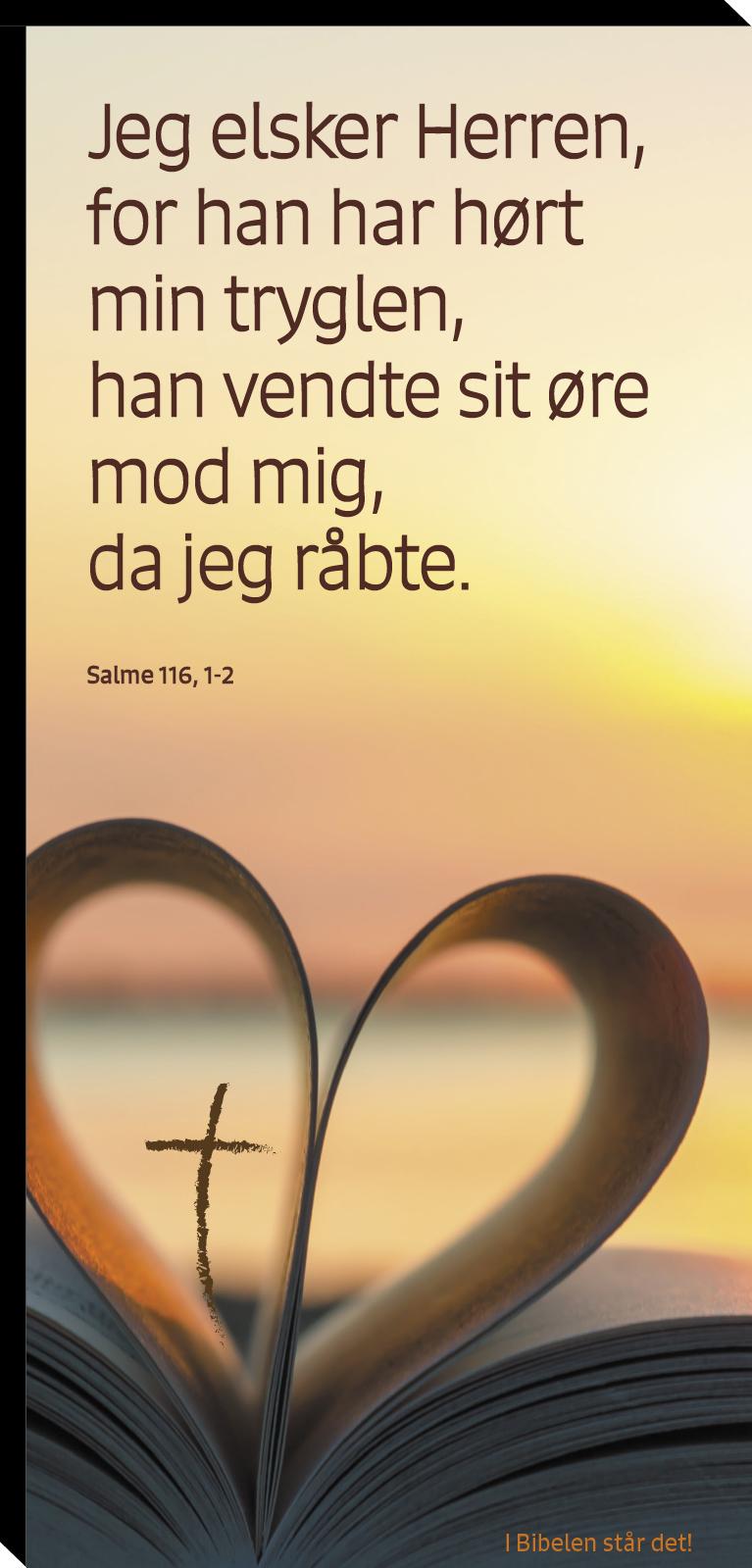 Salme 116, 1-2 Image