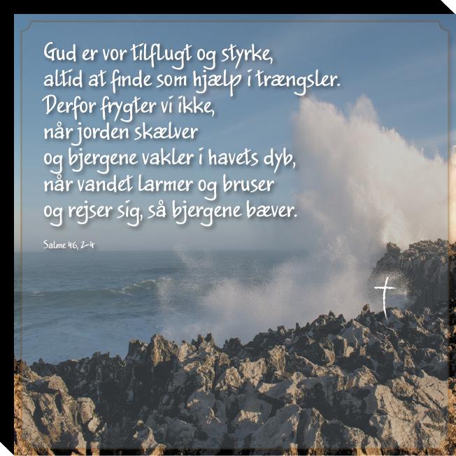 Salme 46, 2-4 Image